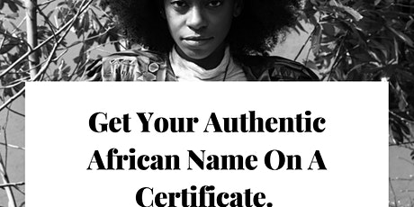 Black History Naming Discovery Ceremony tickets