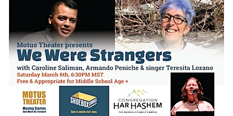 We Were Strangers with Har HaShem tickets