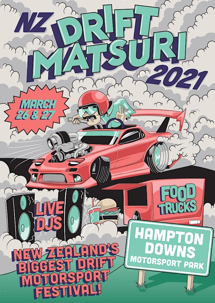 Summer NZ Drift Matsuri Festival 2021 image