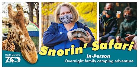 Snorin' Safari tickets