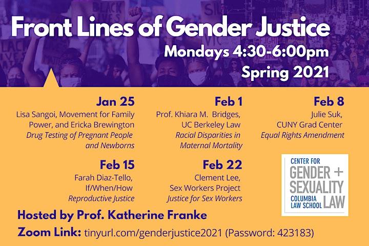 Front Lines of Gender Justice image
