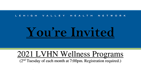 TPLV & LVHN Wellness: Basic Nutrition and Nutrition Related Questions tickets