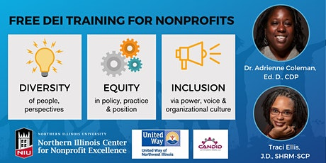 Free DEI Training Series for Nonprofits *RECORDINGS ONLY* tickets