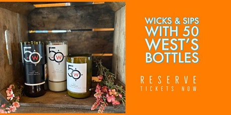 Wine Bottle Candles tickets