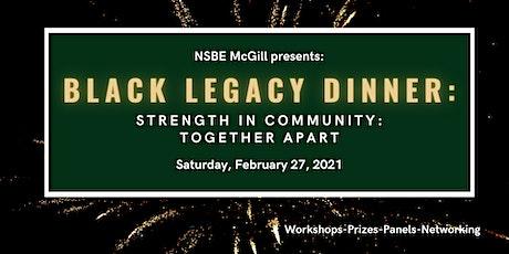 Black Legacy Dinner tickets