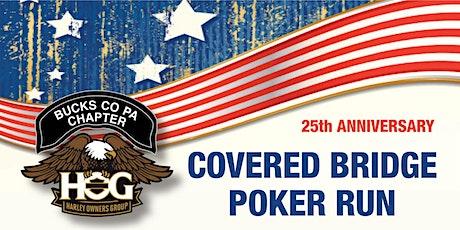 Bucks County HOG Covered Bridge Poker Run tickets