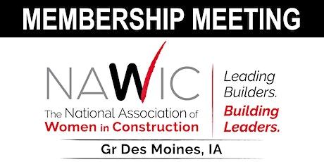 October Membership Meeting - Workforce Development with Michelle Ashline tickets