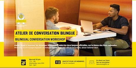 Atelier de  conversation bilingue billets