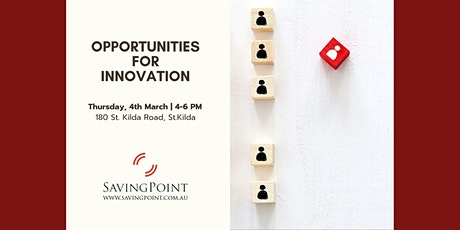 Opportunities for Innovation tickets