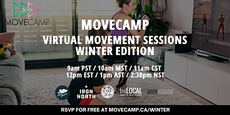 MoveCamp Virtual Movement Sessions – Winter Edition tickets