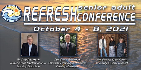 2021 REFRESH Senior Adult Conference tickets