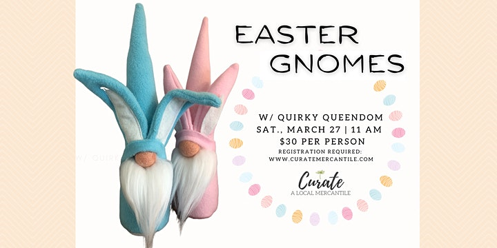 Easter Bunny Gnomes image
