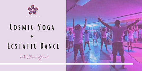 Cosmic Yoga + Ecstatic Dance tickets
