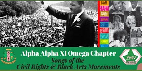 Black History Month Event: Songs of the Civil Rights & Black Arts Movement tickets