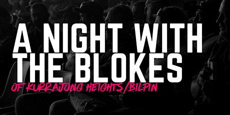A Night With The Blokes of Kurrajong Heights/Bilpin tickets