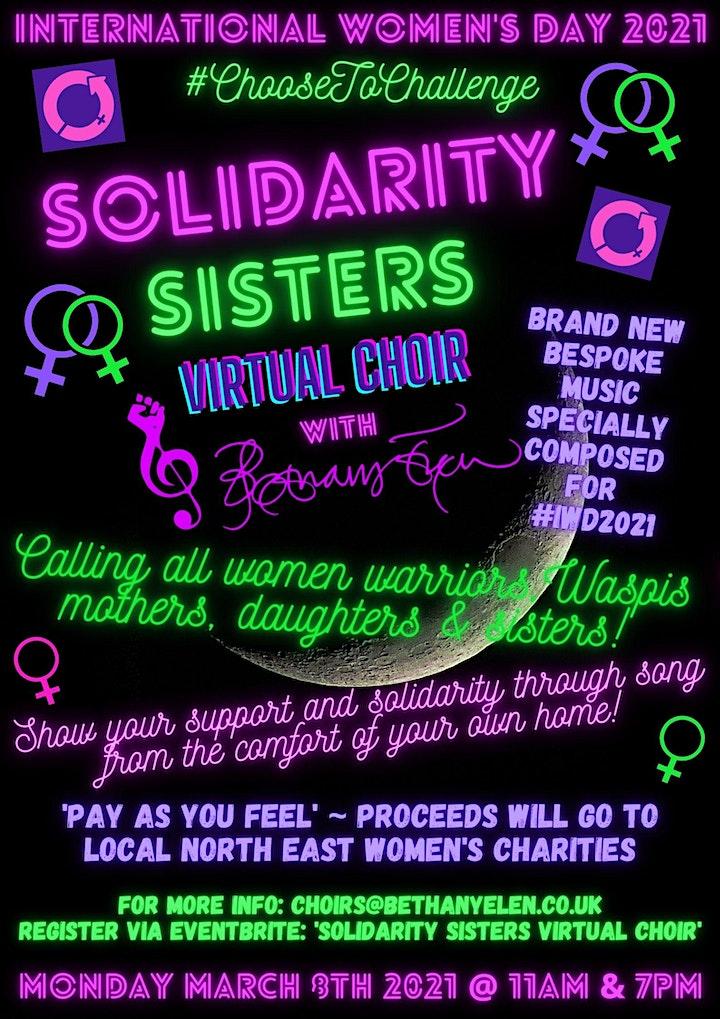 #IWD2021 Solidarity Sisters Virtual Choir image