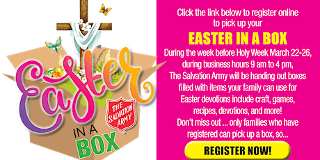 Easter in A Box! Family Fun & Devotional tickets