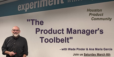 The Product Manager's Toolbelt tickets
