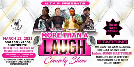 MORE THAN A LAUGH tickets