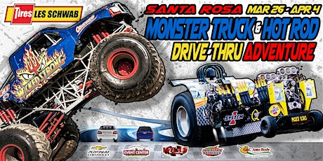 Les Schwab Tires Monster Truck & Hot Rod Drive-Thru Adventure (Sun-3/28/21) tickets