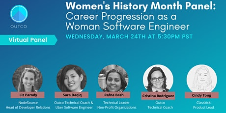 Women's History Month: Career Progression as a Woman Software Engineer tickets