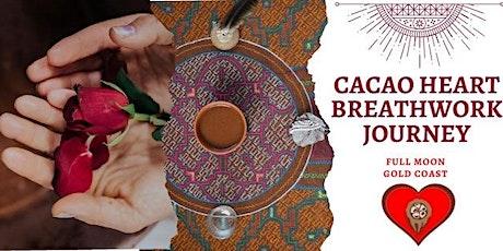 Cacao Heart Breathwork Journey- Gold Coast tickets