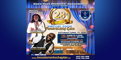 Knox Past Students Association (Toronto)-28th Anniversary Fundraising Gala tickets
