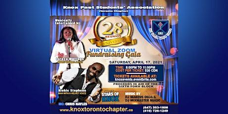 Knox Past Students Association (Toronto)-28th Anniversary Fundraising Gala tickets