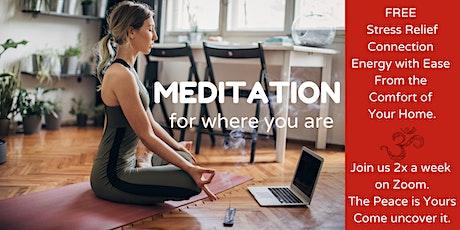 Monday & Friday 6:00pm PST FREE Meditation tickets