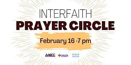 Interfaith Prayer Circle (Monthly) tickets