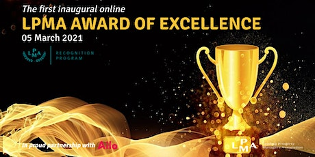 LPMA  Inaugural Online Awards of Excellence 2020 tickets