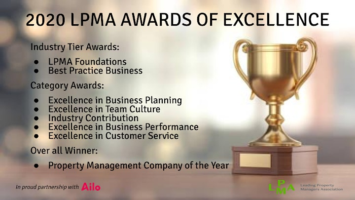 LPMA  Inaugural Online Awards of Excellence 2020 image