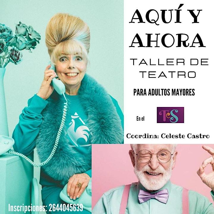 Imagen de TALLER DE TEATRO - para Adultos Mayores -