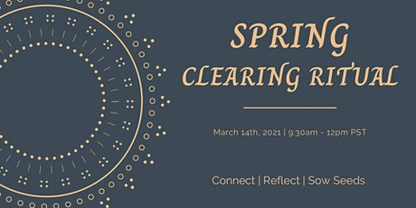 Spring Clearing Ritual tickets
