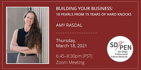 SD/PEN March 2021 Program Meeting: Building Your Business tickets