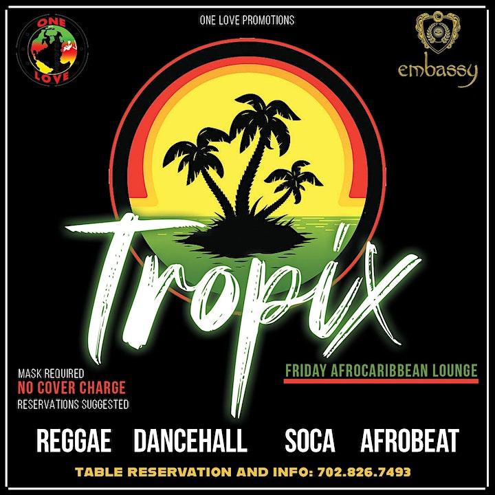 Tropix Fridays Reggae and Afrobeat lounge image