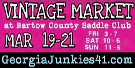 Georgia Junkies 41 Spring Vintage Market 2021 tickets