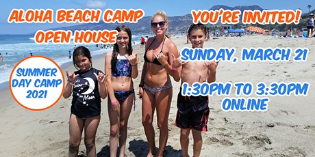 Aloha Beach Camp Summer Camp Open House tickets