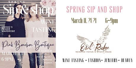 Sip and Shop at Owl Ridge tickets