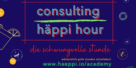 häppi hour [consulting] Tickets
