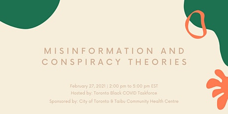 Misinformation and conspiracy theories tickets