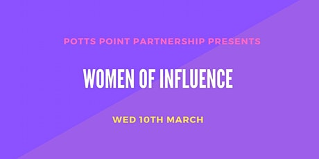 Women of Influence tickets