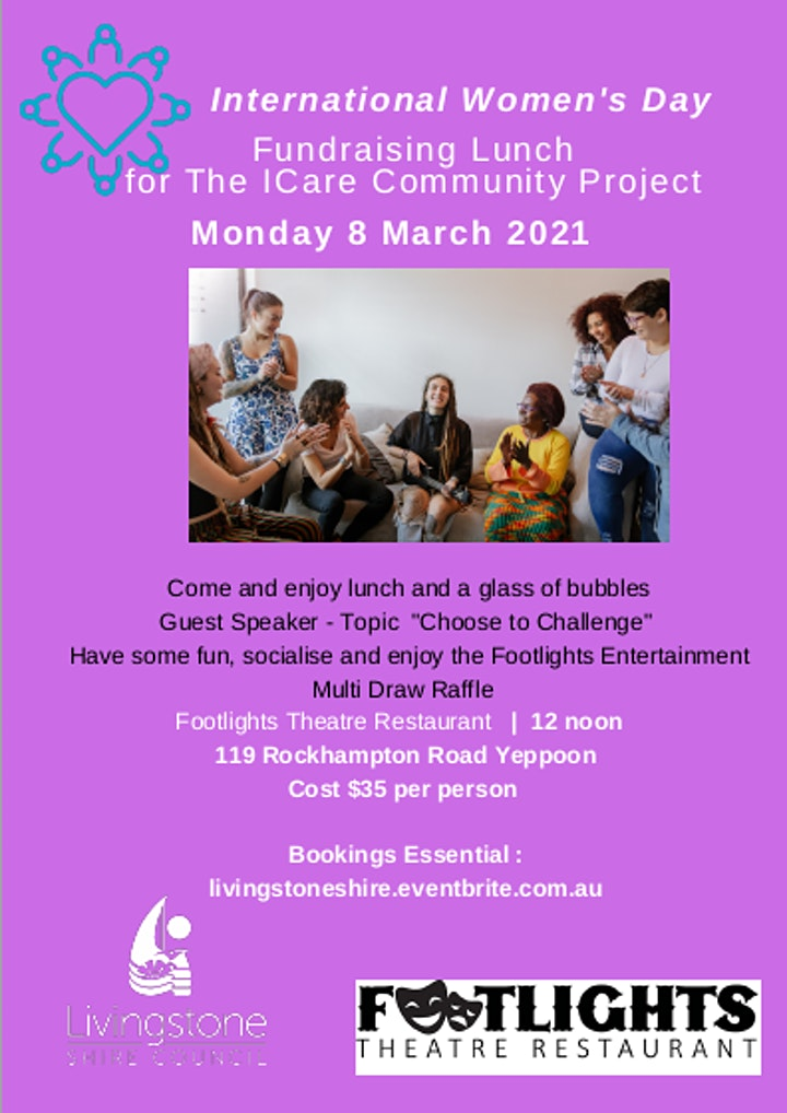International Women's Day Fundraising Lunch image