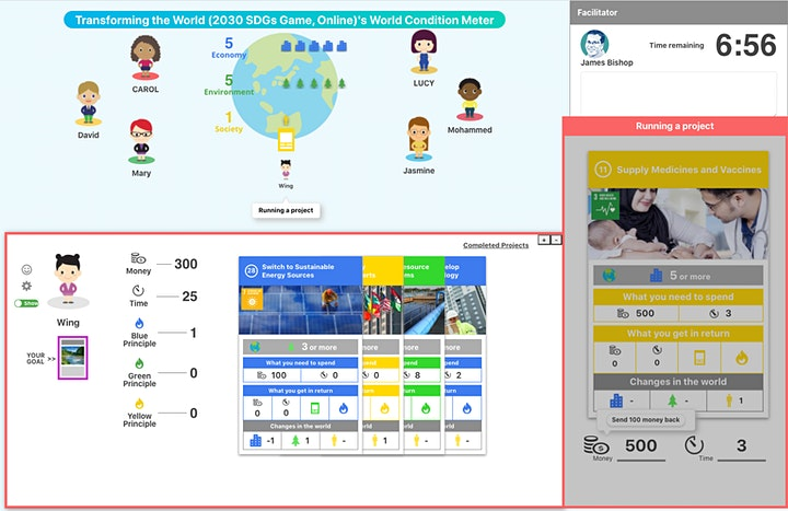 2030 Sustainable Development Goals Game - Virtual Experience image