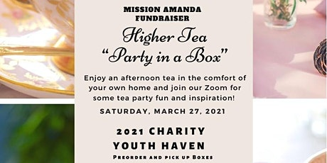 "Mission Amanda Higher Tea ""Party in a Box"" tickets"