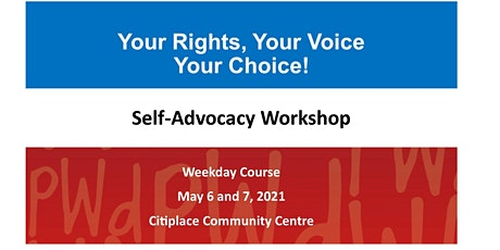 PWdWA Your Rights, Your Voice, Your Choice Weekday Course tickets