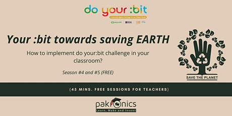"How to implement ""do your:bit"" challenges in your classroom? tickets"