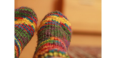 Craft event - Knit a pair of cosy socks tickets