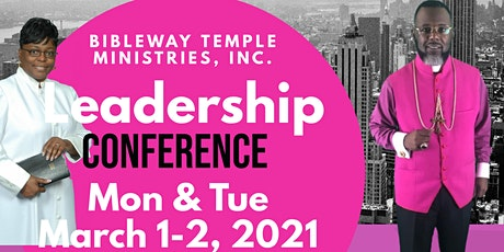 Bibleway Leadership Conference tickets
