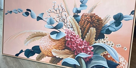 New Artwork Release - Floral Paintings by Chris Riley tickets